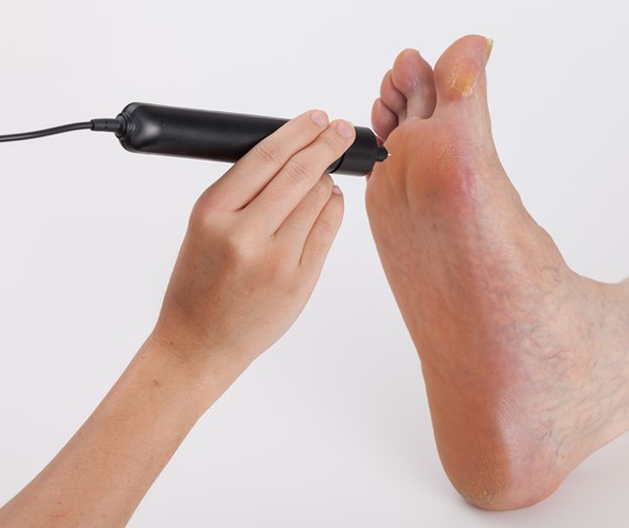 Indentometer foot