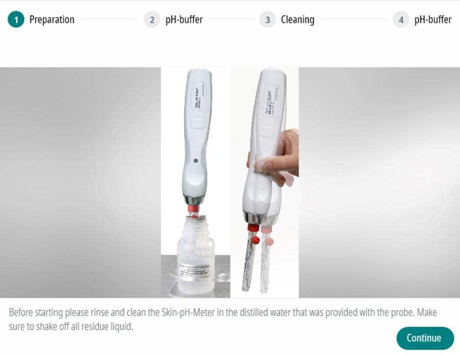 MPA WLplus calibration pH
